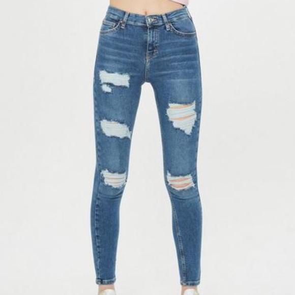 a6a6f676cf9 Petite Moto Blue Super Ripped Jamie Jeans Topshop.  M_5af25d702c705d02bfd60da3